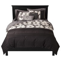 Kenley 5 Piece Duvet Cover Set Black/White