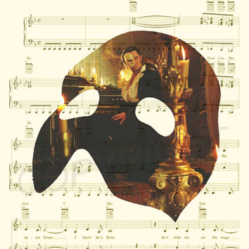 Phantom of the Opera Art Print