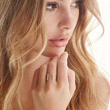 by boe Cage Ring | Forever 21 - 1000174122