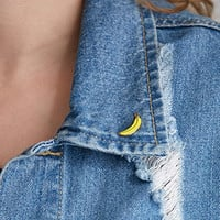 Greenwich Letterpress Enamel Banana Pin