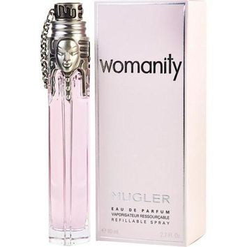 DCCKION THIERRY MUGLER WOMANITY by Thierry Mugler EAU DE PARFUM REFILLABLE SPRAY 2.7 OZ
