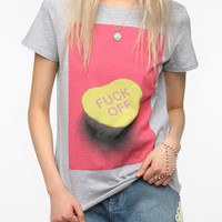 Workshop F*ck Off Heart Tee