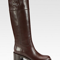 Soho Leather Boots - Zoom - Saks Fifth Avenue Mobile