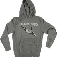 Diamond Styx & Stones Hd/Swt Xxl-Heather Grey/Wht