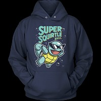 Pokemon Super Squirtle Hoodie