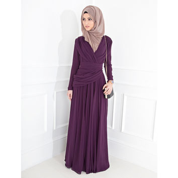 ELLA EVENING GOWN - £94.99 : Inayah, Islamic clothing & fashion, abayas, jilbabs, hijabs, jalabiyas & hijab pins