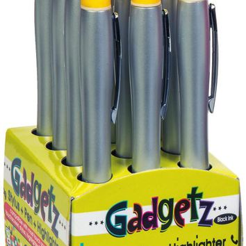 Gadgetz Stylus Pen/Highlighter Case Pack 12