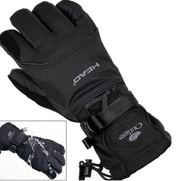 Men's Windproof Snowboard Gloves