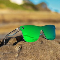BLENDERS Millennia Midori Splash Clear Green Sunglasses