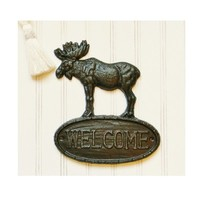 Moose Welcome Sign - Choose your Color - Colorful Cast and Crew