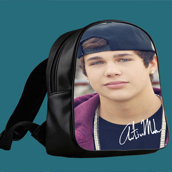 Austin Mahone With Snapback for Backpack / Custom Bag / School Bag / Children Bag / Custom School Bag *