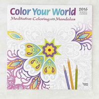 Color Your World 2016 Wall Calendar