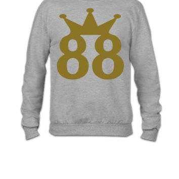 88 crown - Crewneck Sweatshirt
