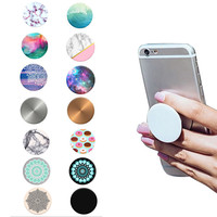 pop socket, Fashion Phone Holder Expanding Stand and Grip Pop Socket Mount for Smartphones and Tablets For Xiaomi iPhone Redmi