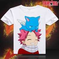 Fairy Tail Short Sleeve Anime T-Shirt V14