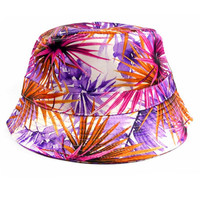 Hybrid Bucket Hat in Floral