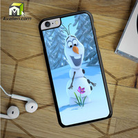 Olaf Disney Frozen Quote iPhone 6S Plus case by Avallen