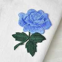 Blue Rose Patch-Cornflower