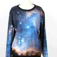 Pink Queen Print Sweatshirt Sweaters Roll Neck Pullovers Galaxy F Small