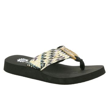 Yellow Box Kaden Gray Flip Flops
