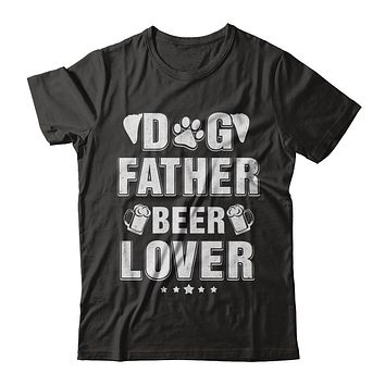 Dog Father Beer Lover Best Dog Dad Fathers Day