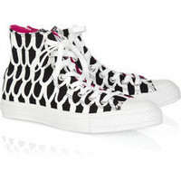 Converse|Marimekko printed canvas high-top sneakers|NET-A-PORTER.COM