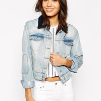 Jack Wills Patched Denim Jacket