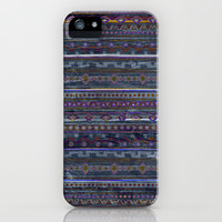 VINTAGE TRIBAL PATTERN iPhone & iPod Case by Nika