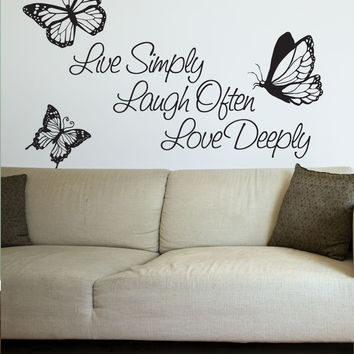 Best Live Laugh Love Decal Products On Wanelo - Wall decals live laugh love