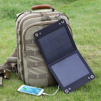 7-Watt Solar Panel Portable Phone & 5V Sub Battery Charger