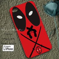 Deadpool Case Designed for iPhone 4/4s/5/5s/5c, Samsung Galaxy S3/S4, Galaxy Note 1/2/3, Nexus i9250, Grand i9082, Htc One X/M7