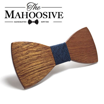 Men Wooden Bow Ties