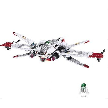 New Star Wars Clone Pilot R4-P44 ARC-170 Fighter Building Blocks Model Compatible with lego Toys Bricks Best Gift For Children