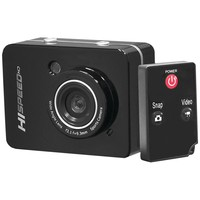 Pyle-sport 12.0 Megapixel 1080p Action Camera With 2.4'' Touchscreen (black)