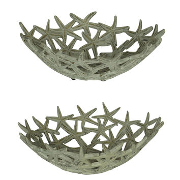 Crestview Starfish Bowls Set - CVBAP794