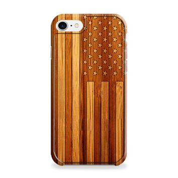 American Flag Wood iPhone 6 | iPhone 6S Case