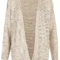 Knitted Slubby Stitch Cardi - Knitwear - Clothing - Topshop USA