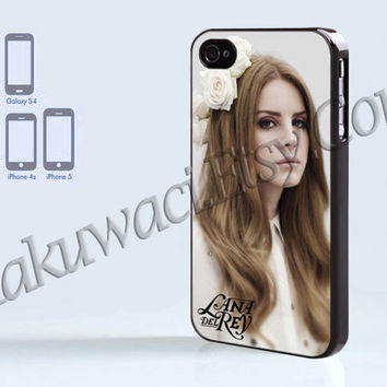 Lana Del Rey Beauty Rose - iPhone 4 case - iPhone 4S case - Samsung Galaxy S3/S4 - iPhone case - Hard Plastic - Case Soft Rubber Case