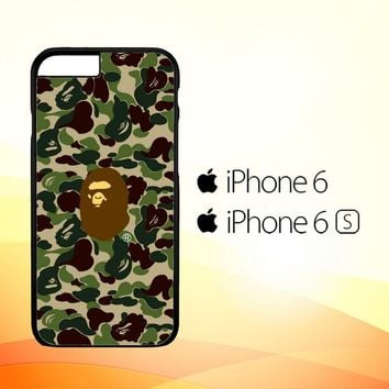GREEN ARMY BAPE J0052 iPhone 6|6S Case