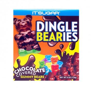 Dingle Bearies - Chocolate Covered Gummy Bears, 6 oz.(170g) | IT'SUGAR