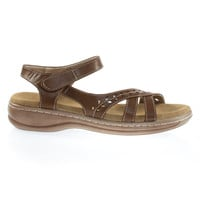 Cassidy38 Brown by Forever Link Comfort Foam Padded Foot Bed, Active Open Toe Huarache Flat Sandal