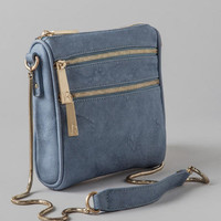 Violet Ray Square Crossbody