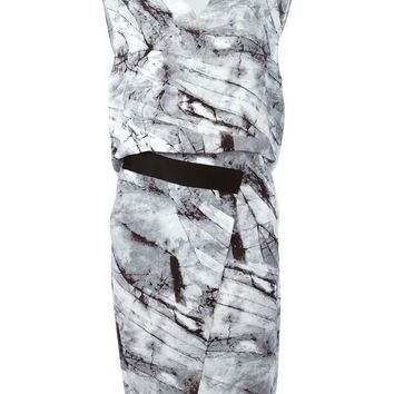 Helmut Lang 'Contrast' dress