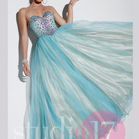 Strapless Sweetheart Studio 17 Prom Ball Gown 12531