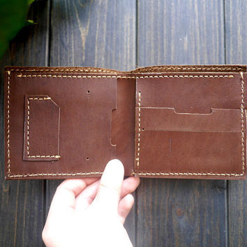 Free Engraving Gift for Mother's Day  - Wallets for men/ Genuine leather wallet /slim wallet/Personalized Wallet/Gift for Him/Mens Wallet