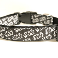 "Star Wars inspired Dog Collar - 1"" Adjustable Space Collar"