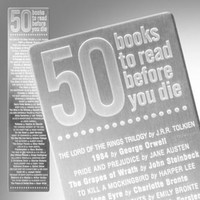 '50 Books' Bookmark   What is New   Animi Causa Boutique