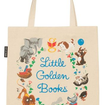 Little Golden Books Cotton Canvas Tote Bag
