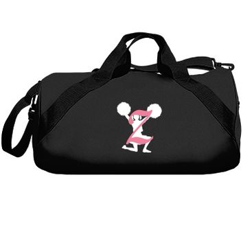 Monogrammed Z cheer bag: Creations Clothing Art
