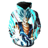 Super Saiyan God Super Saiyan Vegito Dragon Ball Z Hoodie